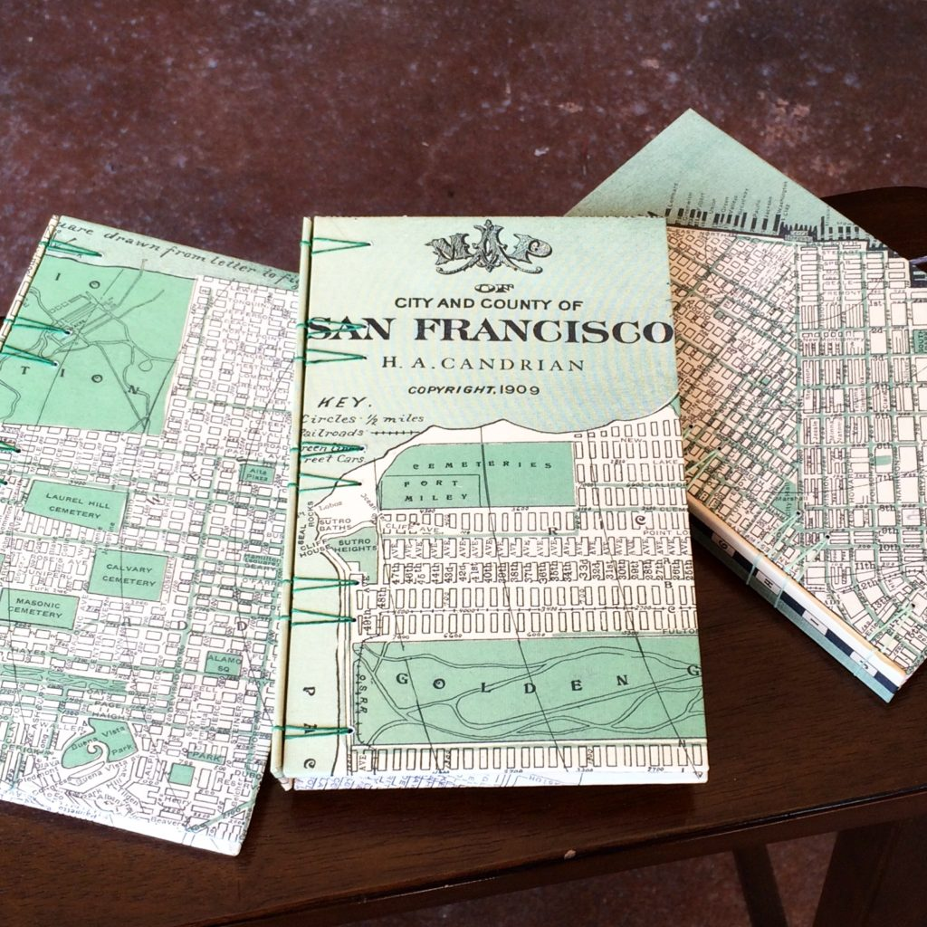 Steve Curnow's limited edition San Francisco design journals.